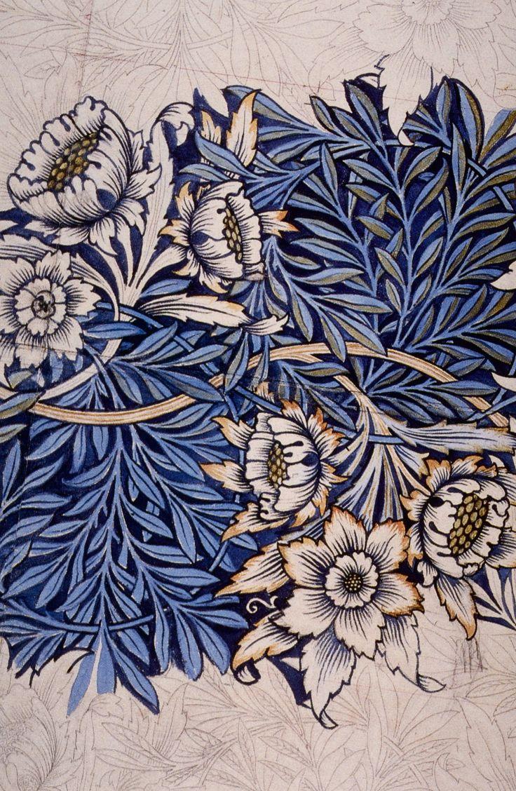 William Morris - 'Tulip and Willow'