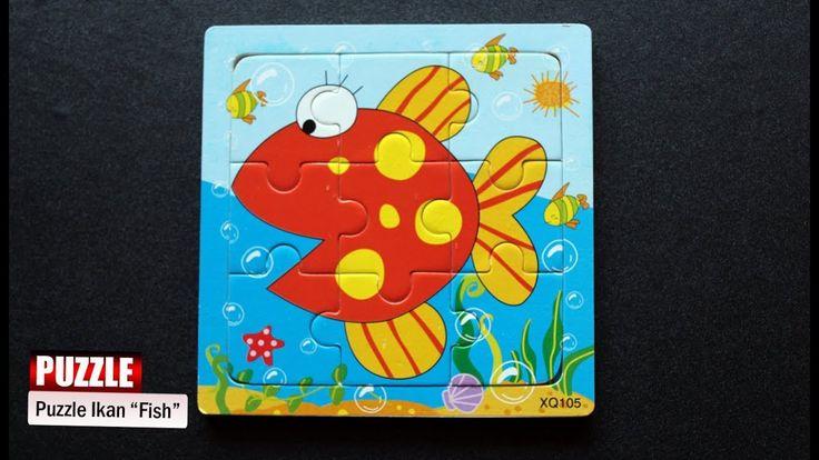 Puzzle Ikan | Permainan Puzzle Anak ♥ Senangnya Bermain Puzzle
