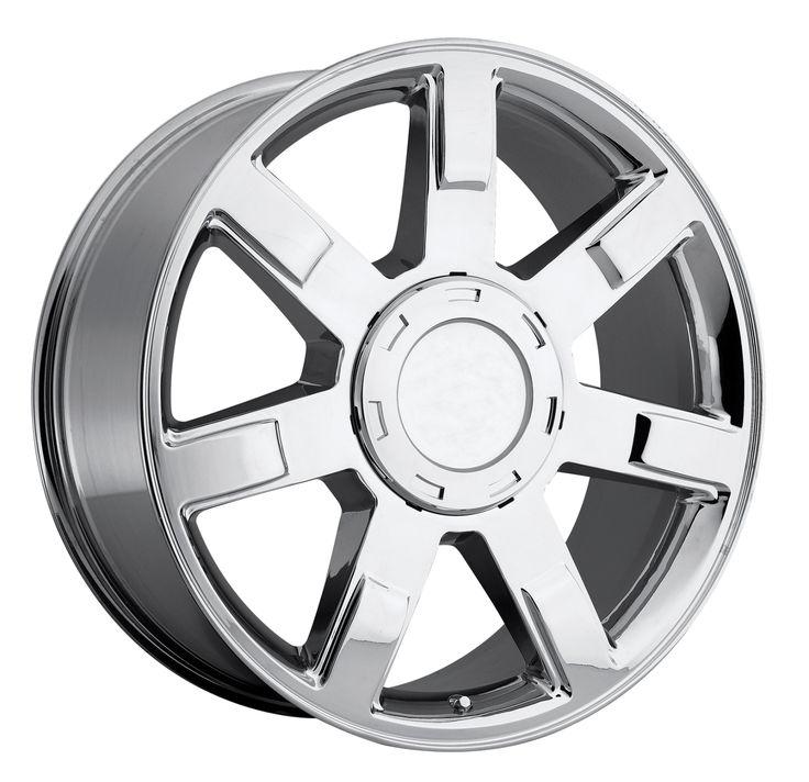 Cadillac Escalade 2007-2012 20x9 6x5.5  31 - Wheel - Chrome With Cap