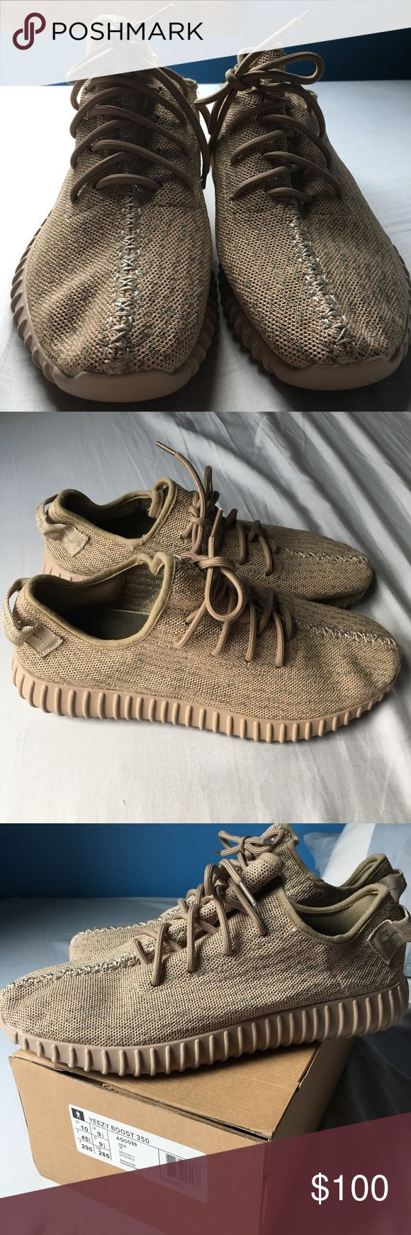 Yeezy Boost 350 Oxford Tan Best pair of flawless UNAUTHENTIC Yeezy Oxford Tans. So close to original. New with box. Size 10. Price is firm. Yeezy Shoes Sneakers