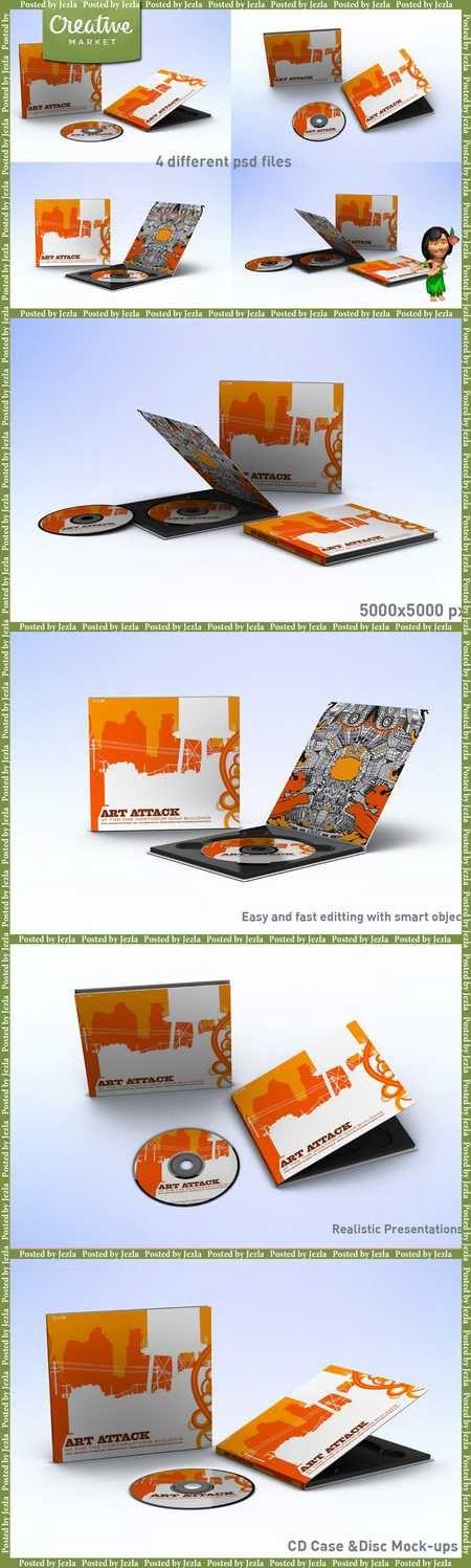 CD Case & Disc Mock-ups - 178371