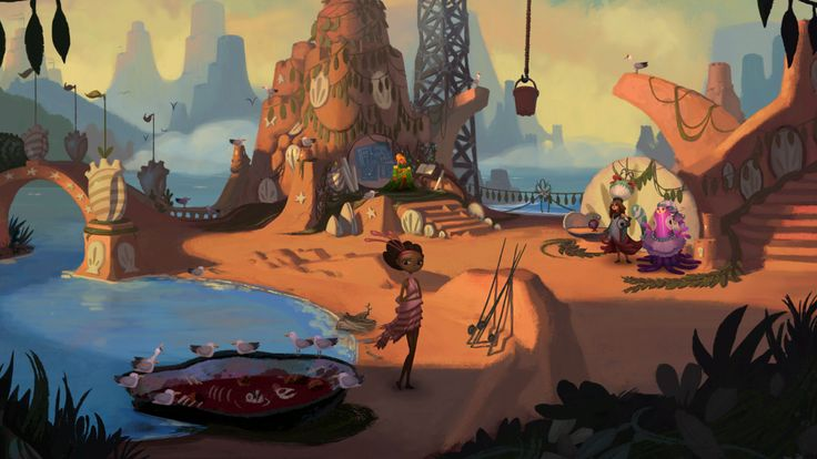 Broken Age - a new adventure game by Tim Schafer and Double Fine Productions