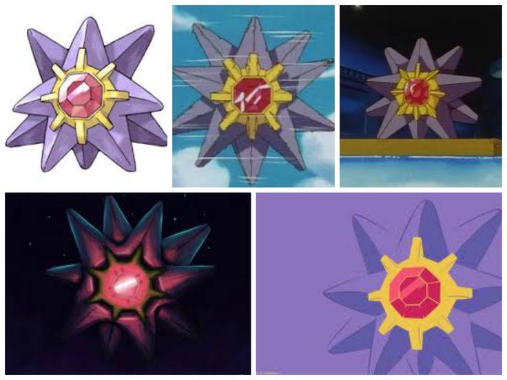Starmie(Mysterious Pokemon)