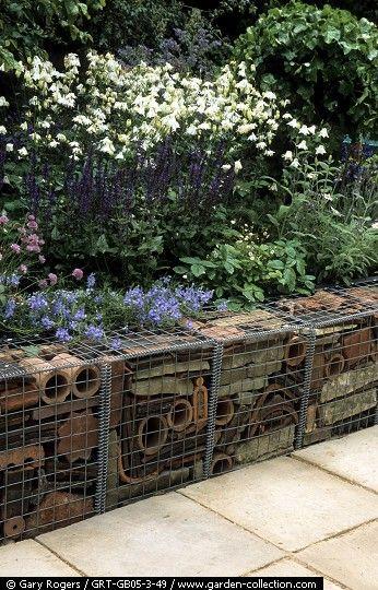 paisajismo muro de gaviones paredes texturadas ideas de reciclaje jardines verticales artesanas de jardn ideas para tcnica mixta jardines