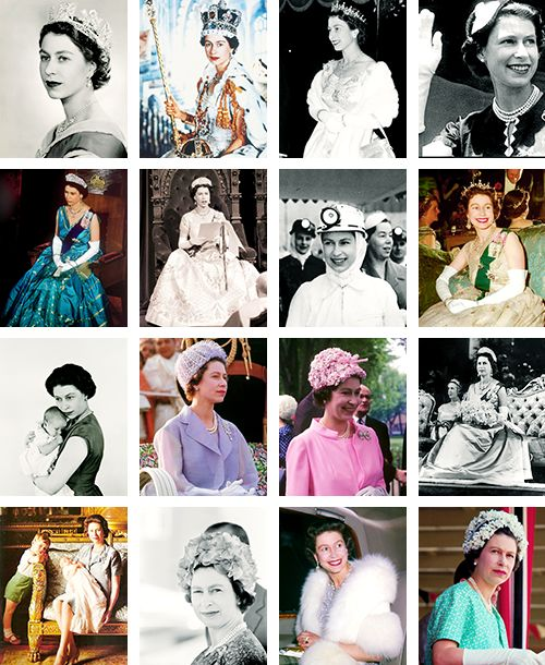 ravishingtheroyals: Queen Elizabeth-a photo for each year of her reign: Years 1952-1967: