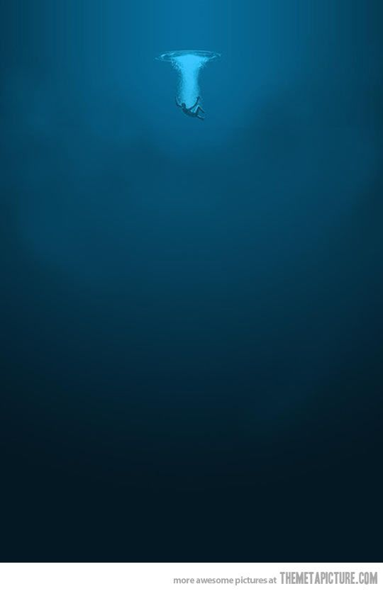 The Ocean is a beautiful, frightening place…