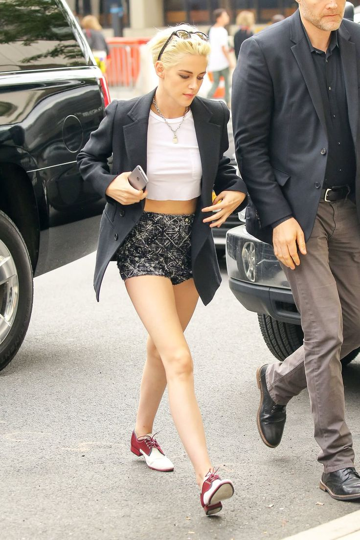 Style Inspiration Street Styles Queen Tomboy Kristen Stewart Icons Celebrity Ale Idol