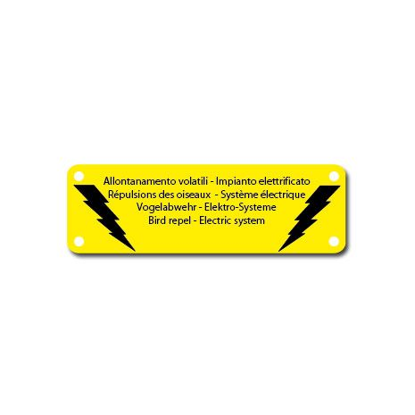 Check Out Our Awesome Product: Cartellino di Segnalazione Alta Tensione>>>>>>Sistema Elettrificato MAYA®