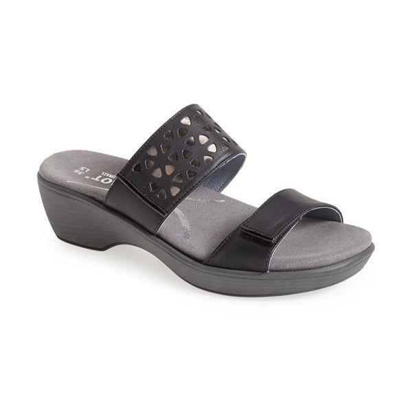 Women's Naot 'Moreto' Wedge Sandal (1,040 CNY) ❤ liked on Polyvore featuring