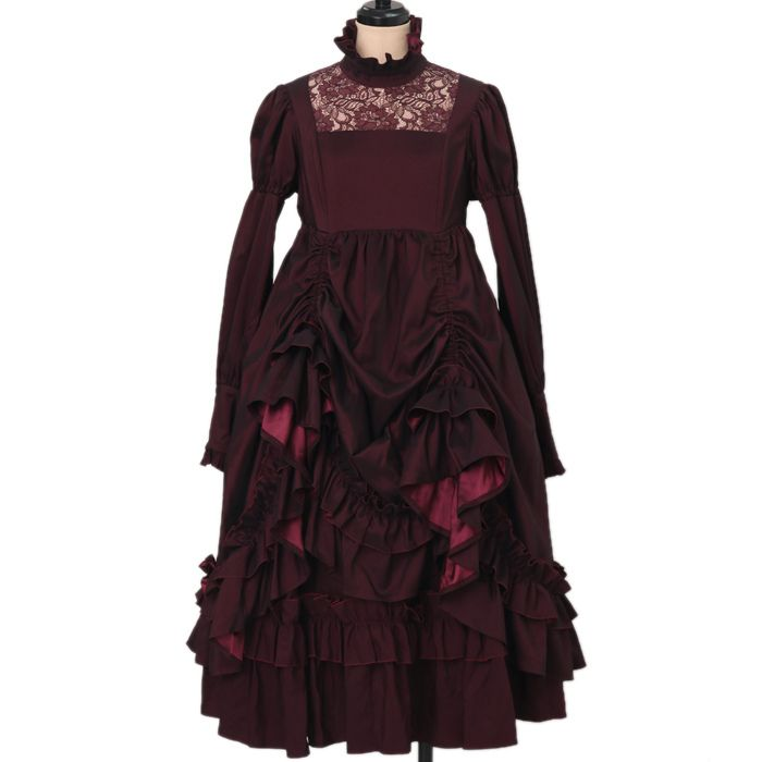 Worldwide shipping available ♪ ATELIER BOZ | Atoriebozu ☆ ·. . · ° ☆ Epona Frill dress https://www.wunderwelt.jp/en/products/w-17256  IOS application ☆ Alice Holic ☆ release Japanese: https://aliceholic.com/ English: http://en.aliceholic.com/