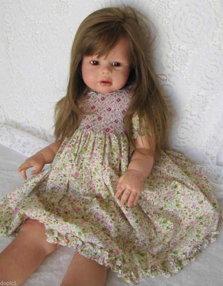 "Nancy's Lil Darlings Peggy Regina Swialkowiski  30"" Standing Toddler Reborn Girl #ReginaSwiakowski"