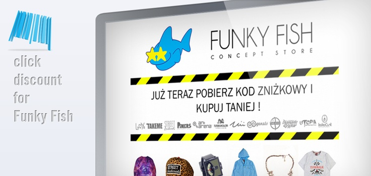 #ClickDiscount for #FunkyFish by #ClickApps