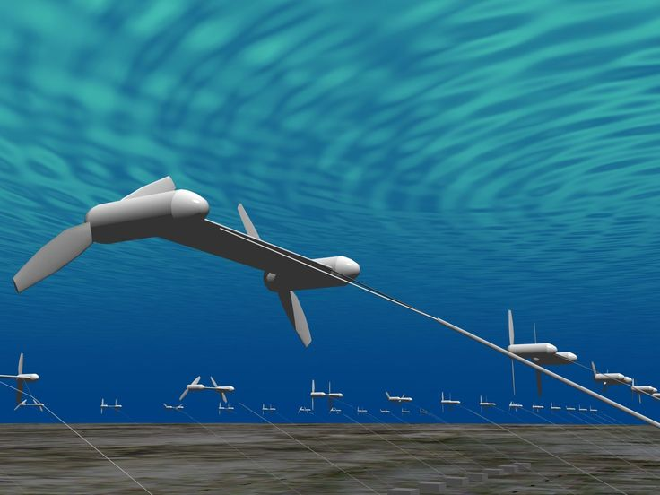 Japan Is Building Underwater Kites to Harness the Power of the Ocean Current | The new year will see at least one fresh, promising, and experimental cleantech idea put to the test: deploying fleets of underwater kite turbines that can harness ocean currents for power.