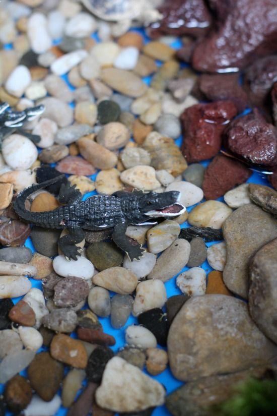 Reptile Small World and Sensory Play