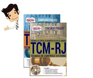 Conquiste sua Aprovação no Concurso do Tribunal de Contas do Município do Rio de Janeiro (TCM/RJ) 2016, estudando com nossa Apostila preparatória do Cargo Técnico de Controle Externo. São 18 vagas com remuneração inicial de R$ 8.045,36 e carga horária de 40h semanais. O candidato deve possuir nível médio.  As inscrições serão realizadas no site do IBFC, www.ibfc.org.br, de 01 de agosto a 05 de setembro. A taxa de inscrição é de R$ 55,00. A prova está prevista para o dia 16 de outubro.