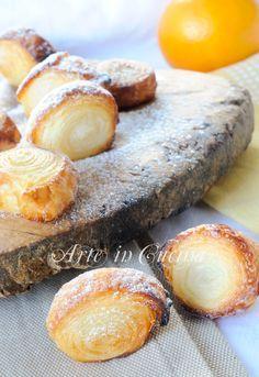 Swivels with orange   Girelle veloci all'arancia dolcetto sfizioso   Arte in Cucina