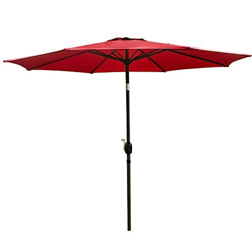 http://picxania.com/wp-content/uploads/2017/09/snail-9-foot-outdoor-umbrella-porch-sun-shade-pool-deck-table-umbrellas-burgundy.jpg - http://picxania.com/snail-9-foot-outdoor-umbrella-porch-sun-shade-pool-deck-table-umbrellas-burgundy/ - SNAIL 9 foot Outdoor Umbrella Porch Sun Shade Pool Deck Table Umbrellas, Burgundy -   Price:    SNAIL 9′ Tilting Market Patio Umbrellas Even on the sunniest day, you can enjoy your outdoor living spaces and remain cooler by using this s