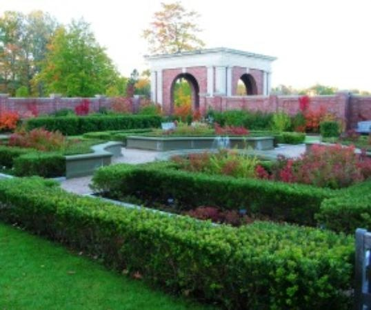 Walled Garden at KC Irving Center - Acadia University, Wolfville, NS