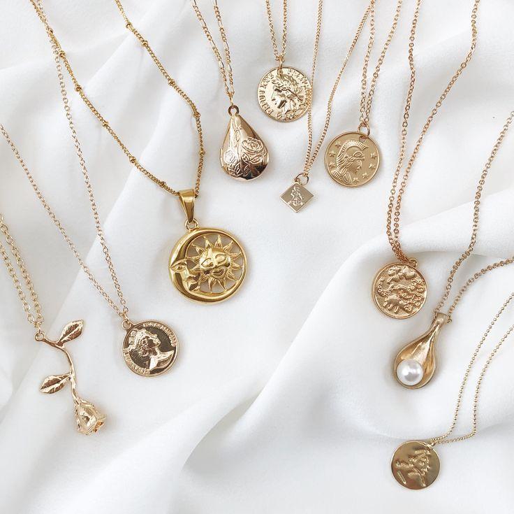 Belmto Minimal Gold Halsketten #