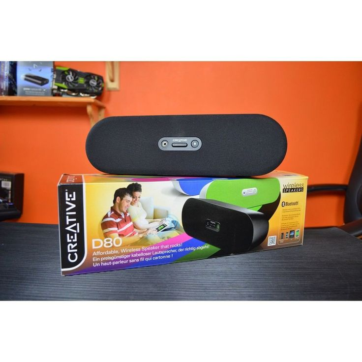 CREATIVE 51MF8130AA002 D80 Wireless Bluetooth Speaker