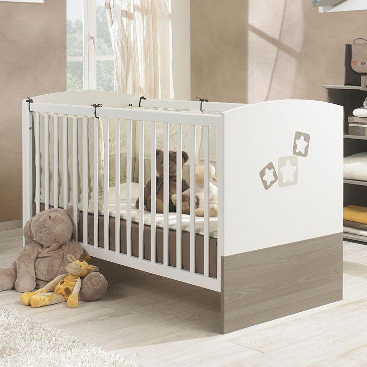 Deco Salon Noir Blanc Orange :  bebe bois chambre déco chambre évolutif enfant lit évolutif en bois