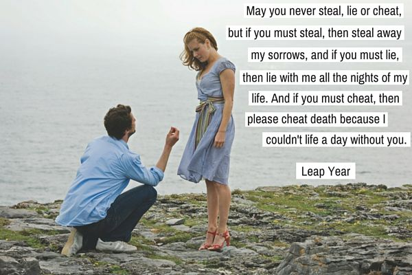 Talk about stealing...this is a variation on a traditional Irish Wedding Blessing.