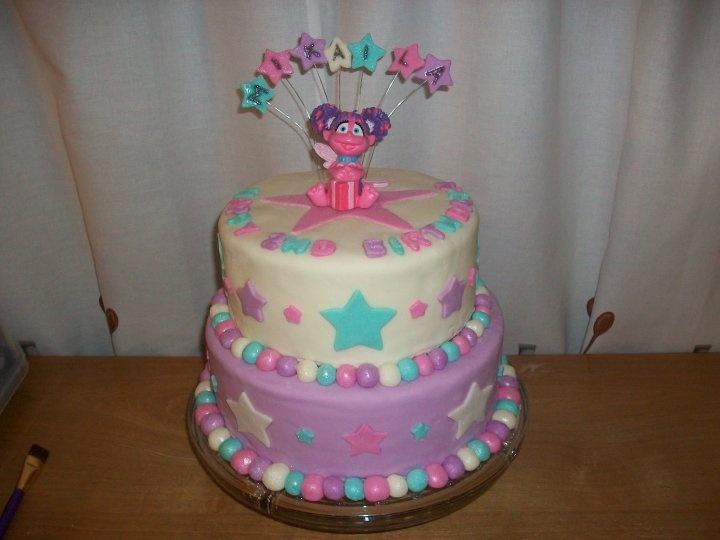 Pin Sesame Street Abby Cadabby By Deliciouscreations Cakesdecorcom