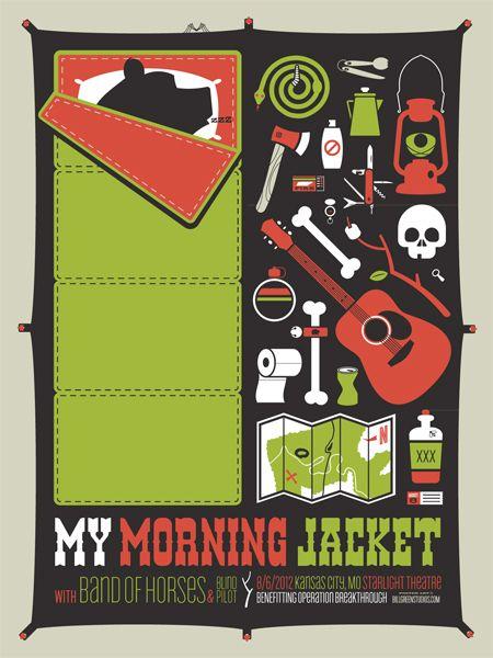 Blind Pilot - Band Of Horses - My Morning Jacket
