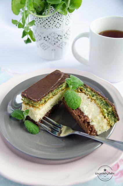 Wszędobylskie: Czekolada, landrynki i szpinak - szalone ciasto :-...