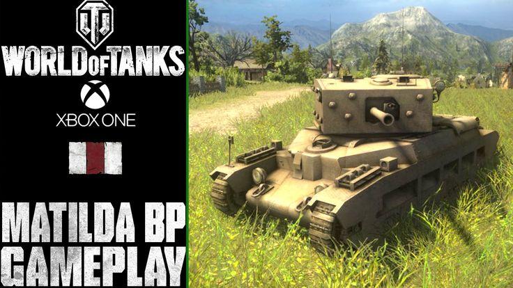 World of Tanks Xbox One: Matilda Black Prince | Westfield  | Gameplay