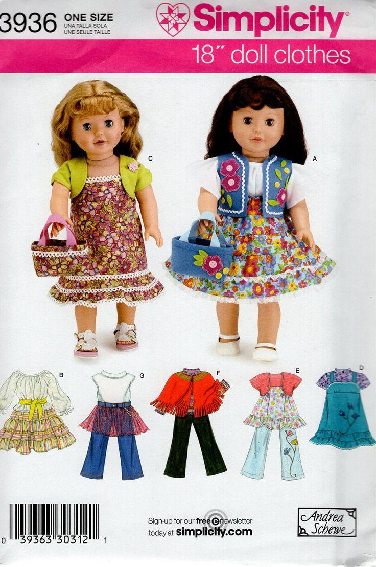 601 besten Doll & Craft Sewing Patterns Bilder auf Pinterest ...