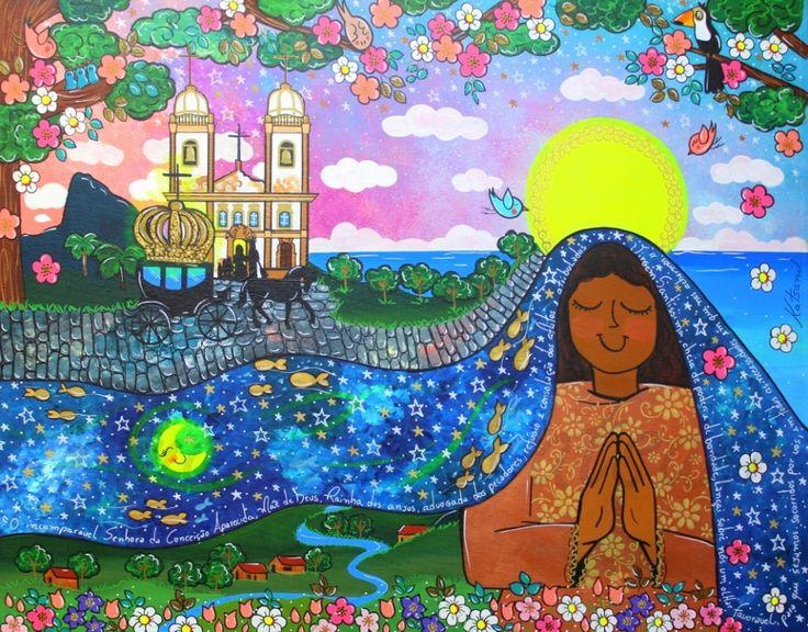 Artista : Andreza Katsani Nome da obra: A Princesa, a coroa e a Rainha. Técnica : Tinta acrílica sobre tela Tamanho 80x100 Ano : 2017