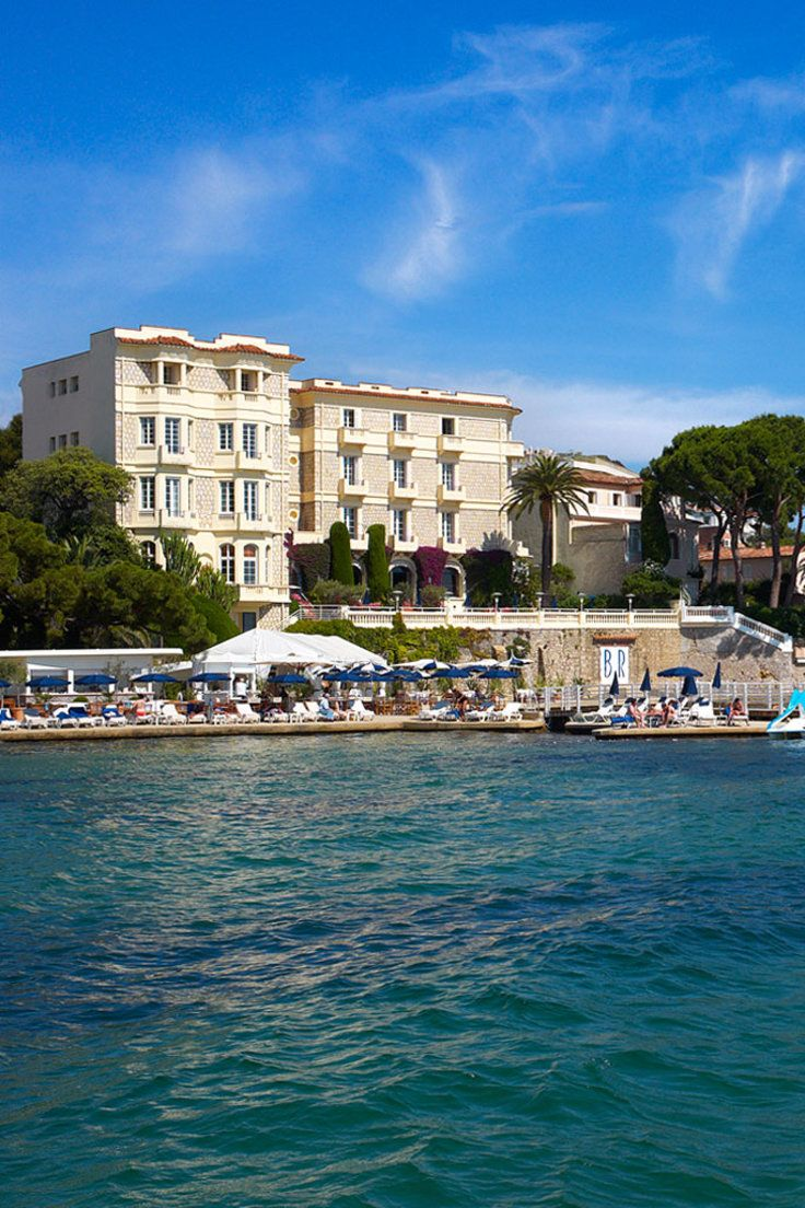 Hotel Belles Rives - Antibes, France - This high society hotel has a prime waterfront position in Juan-les-Pins on the French Riviera.