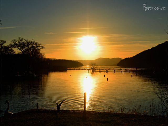Sunset, Loch Lomond, Scotland, (c) Floresence