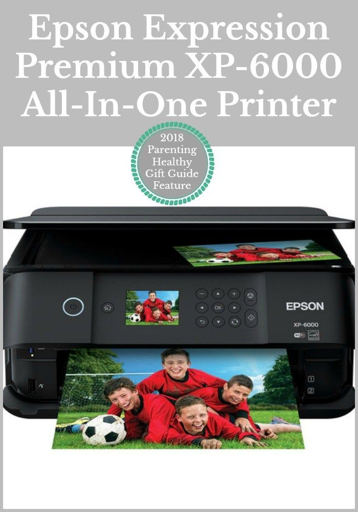 Epson Expression Premium Xp 6000 All In One Printer Healthy Gift All In One Expressions