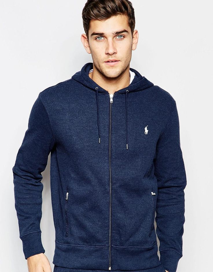 Shop Polo Ralph Lauren Hoodie with Logo In Navy at ASOS.