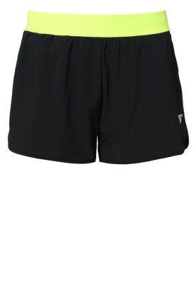 YASTRUWA - Pantaloncini sportivi - black