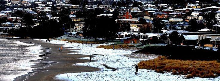 Tasmania suffers the coldest winter since 1966