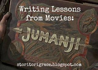 Stori Tori's Blog: Writing Lessons from Movies: Jumanji