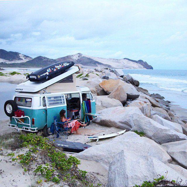 Les vacances bohèmes / Bohemian Holidays / Kinfolk / Surf