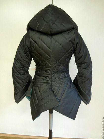Верхняя одежда ручной работы. Тёплая стеганая куртка с яркой отделкой. Елена…