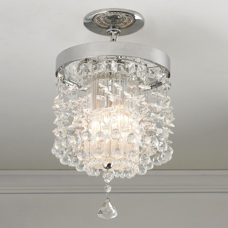Crystals In Flight Pendant Or Ceiling Light EleganceInterior LightingLighting IdeasLiving