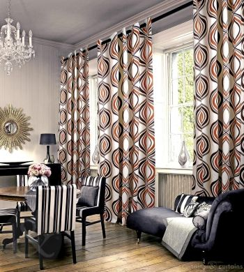 Get the imperial feel in your home with these #luxury #curtains