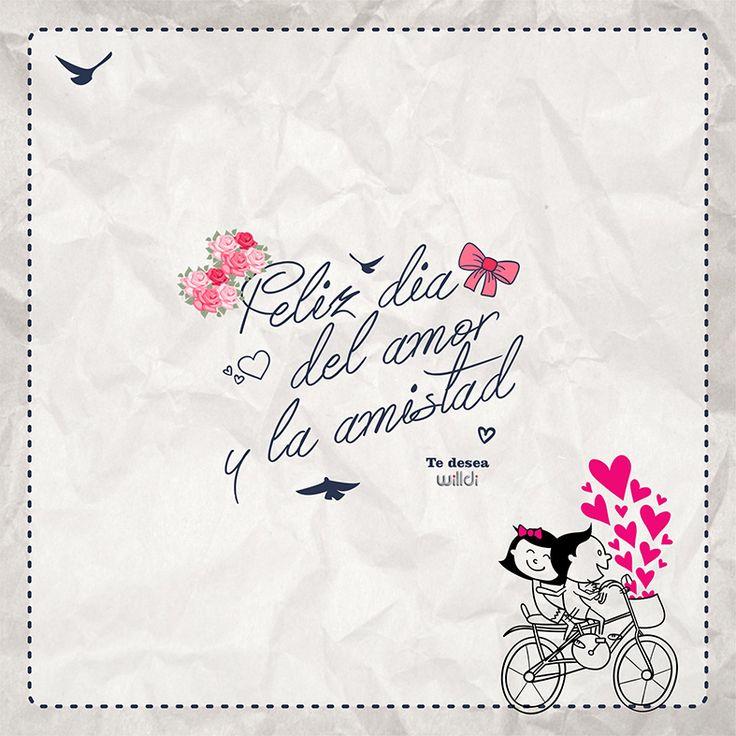 #Willdi les desea lo mejor en este día tan especial  #DiaDelAmorYAmistad #WilldiCrecemosContigo
