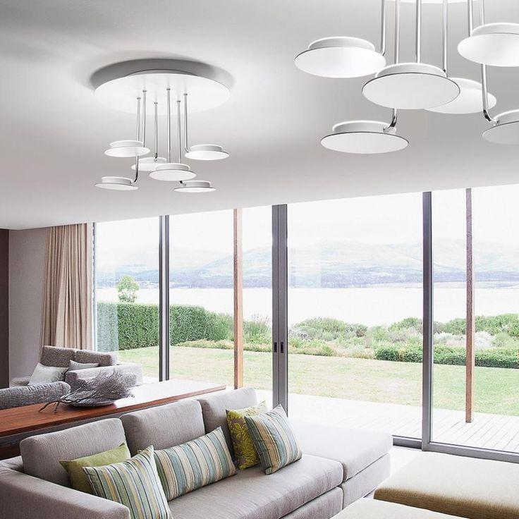 Die besten 25+ Led deckenleuchte dimmbar Ideen auf Pinterest Led - deckenlampen wohnzimmer led