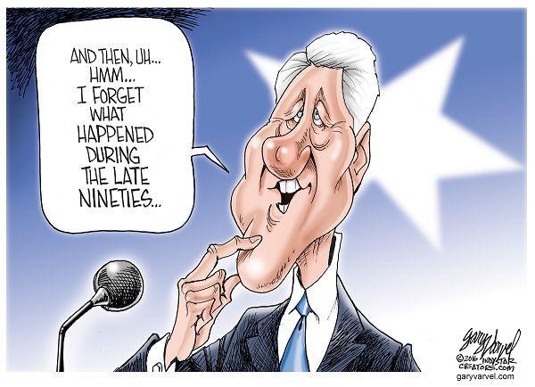 Image result for bill clinton kyoto cartoons