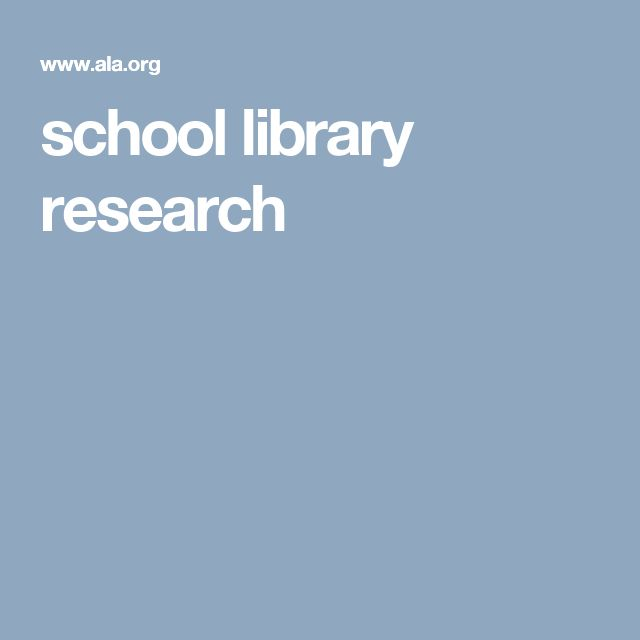 school libraries work research foundation paper Karen marais, 2005, edd from finishing school to feminist academy: the impact of changing social constructions of gender on education in a private girls' school in western australia, 1945 - 1997.