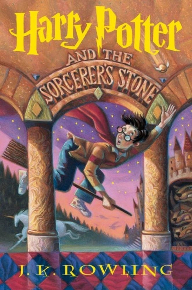 Harry Potter and the Sorcerer's Stone Book PDF Digital