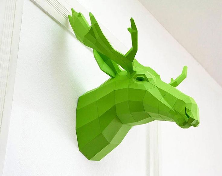 cool low-poly paper animals! http://www.langweiledich.net/low-poly-tier-skulpturen-aus-papier/