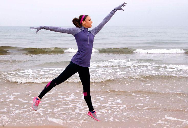 La ropa técnica se suma a la moda running. ¡Evitemos más de un resfriado con estas prendas inteligentes! Look Under Armour